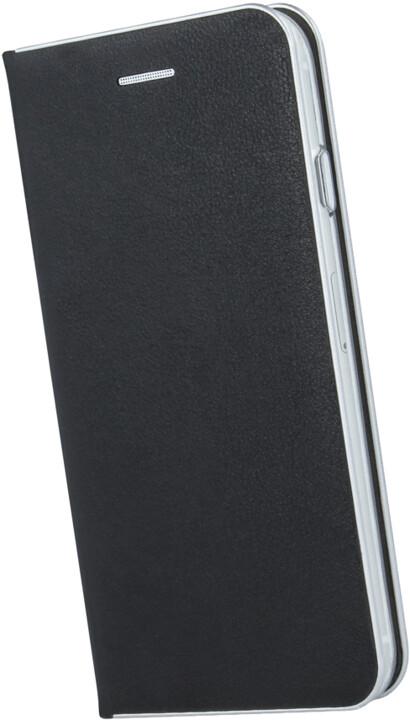 Forever flipové pouzdro Smart Diva pro Huawei Y5 (2019), černá