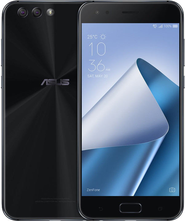 ASUS ZenFone 4 ZE554KL-1A009WW, černá