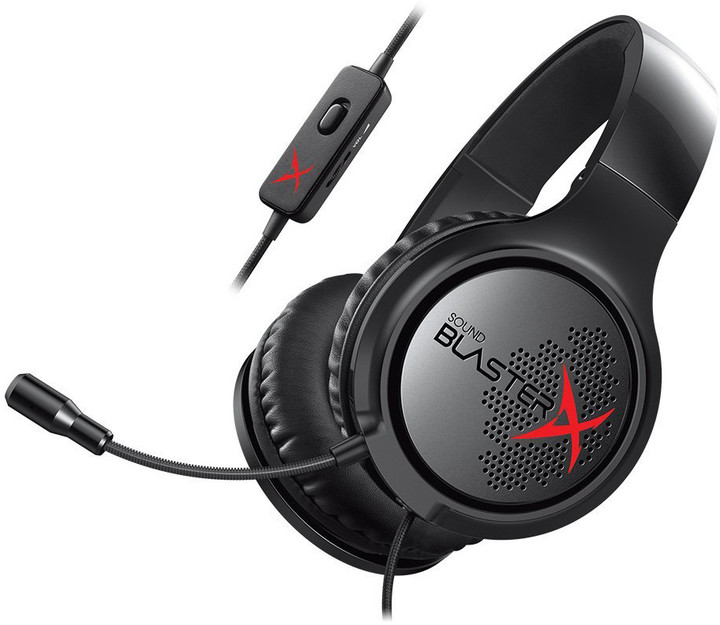 Creative Sound BlasterX H3, černá