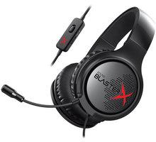Creative Sound BlasterX H3, černá - 70GH034000000