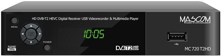 Mascom MC720T2, DVB-T2