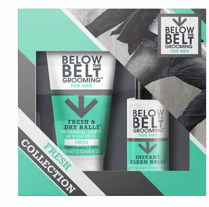 Sada Below the Belt Fresh, pro muže, na intimní partie