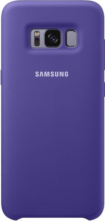 Samsung S8 silikonový zadní kryt, violet