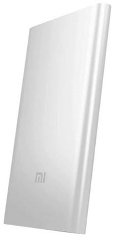 Xiaomi Mi Power Bank 2S 5000 mAh, stříbrná