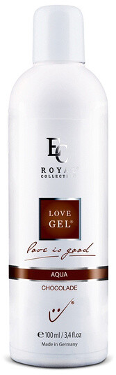 Lubrikační gel Love Gel Aqua, Chocolade, 100 ml