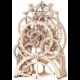 Stavebnice RoboTime Hodinový strojek, mechanická, dřevěná
