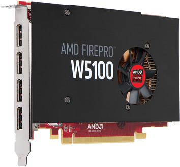HP AMD FirePro W5100, 4GB