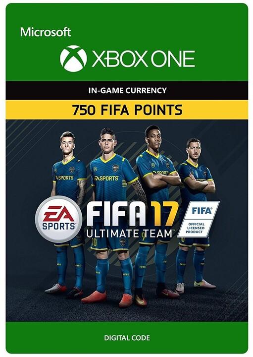 FIFA 17 - 750 FUT Points (Xbox ONE) - elektronicky