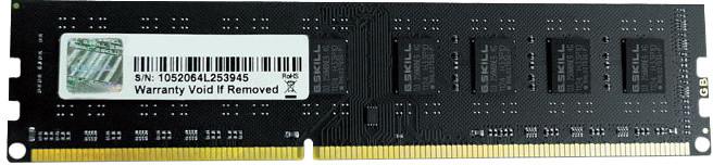 G.SKill Value 8GB DDR3 1600 CL11