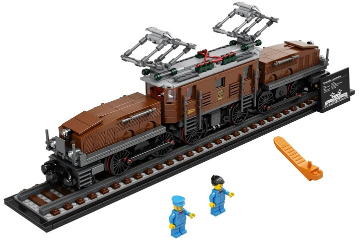LEGO Creator Expert 10277 Lokomotiva Krokodýl