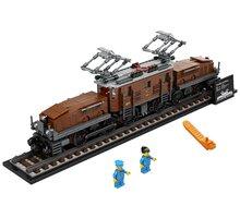LEGO Creator Expert 10277 Lokomotiva Krokodýl - Rozbalené zboží