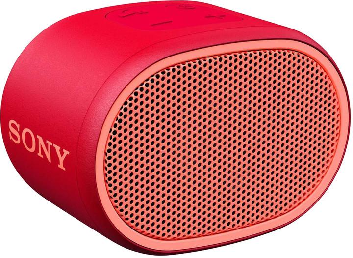 Sony SRS-XB01, červená