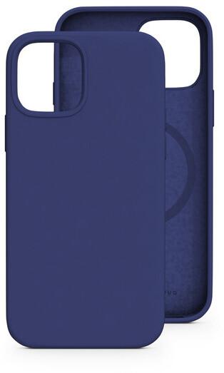 EPICO silikonový zadní kryt pro Apple iPhone 13 Pro Max, magnetický, modrá