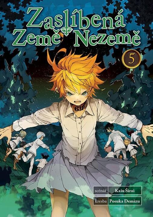 Komiks Zaslíbená Země Nezemě, 5.díl, manga