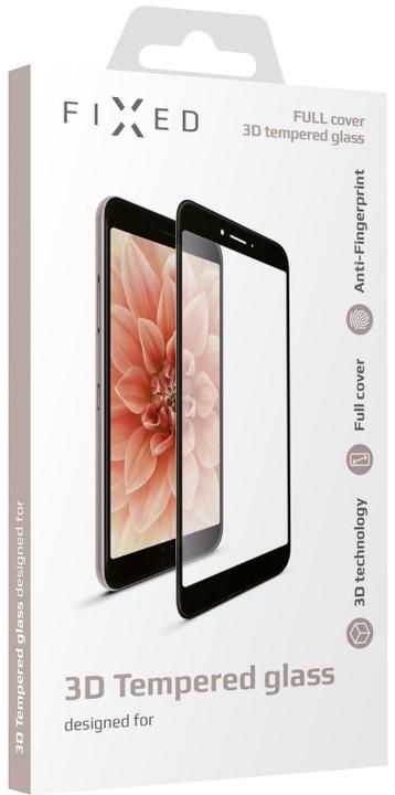FIXED 3D Full-Cover ochranné tvrzené sklo pro Apple iPhone X, přes celý displej, černé