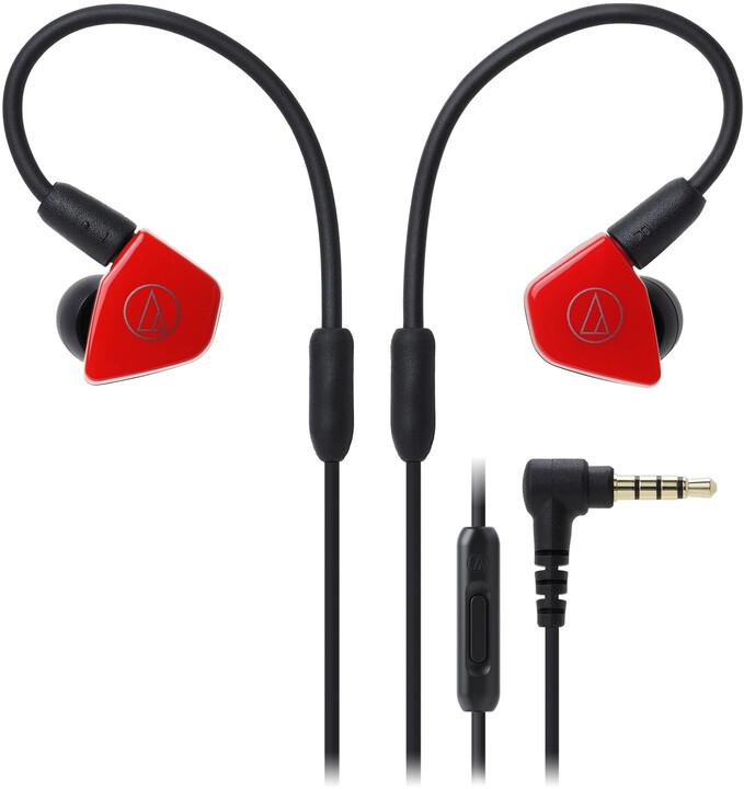 Audio-Technica ATH-LS50iS, červená