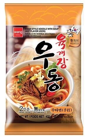 Wang Korea Udon Yukgaejang instantní nudle 430 g