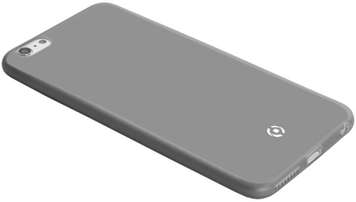 CELLY pouzdro Frost pro Apple iPhone 5/SE, TPU, 0,29mm - černá