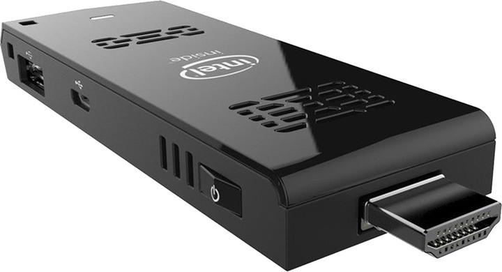 Intel Compute Stick BOXSTCK1A32WFCL, černá