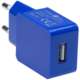 CONNECT IT nabíjecí adaptér 1xUSB port 1 A, modrá