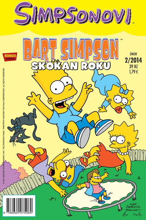 Komiks Bart Simpson: Skokan roku, 2/2014