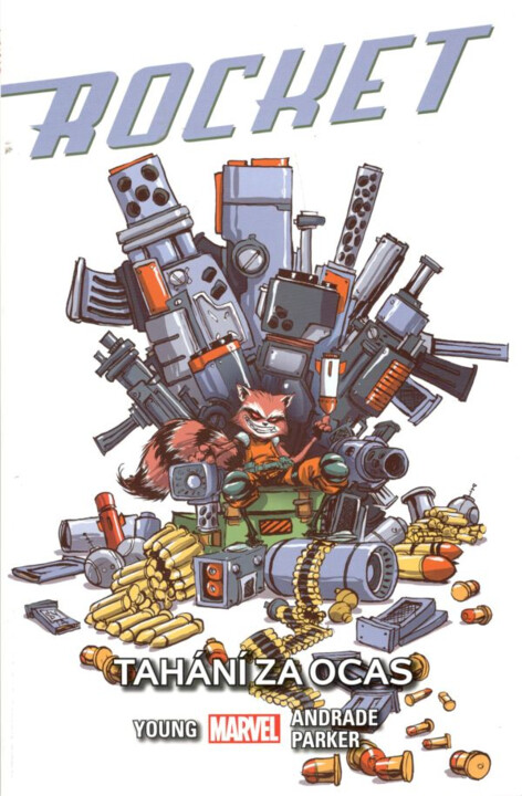 Komiks Rocket: Tahání za ocas