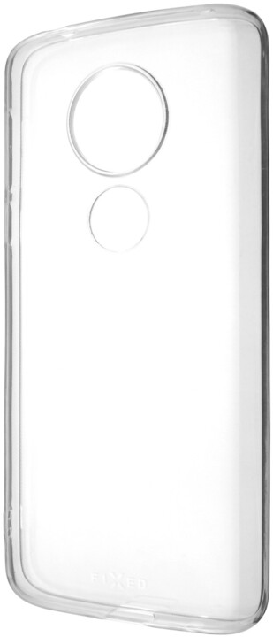 FIXED TPU gelové pouzdro pro Moto E5, čiré
