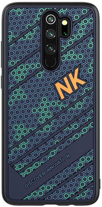Nillkin Striker zadní kryt pro Xiaomi Redmi Note 8 Pro, modrá