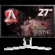 """AOC AG271QG - LED monitor 27""""  + Voucher až na 3 měsíce HBO GO jako dárek (max 1 ks na objednávku)"""