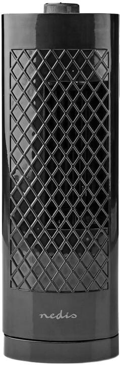 Nedis stolní sloupový ventilátor, černá