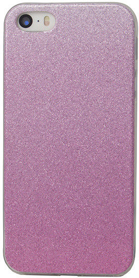 EPICO pouzdro pro iPhone 5/5S/SE GRADIENT - růžový