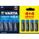 VARTA baterie Longlife Power AA, 4+4ks