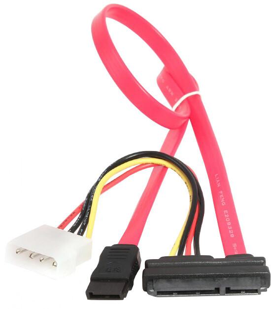 Gembird CABLEXPERT kabel SATA napájecí + datový combo