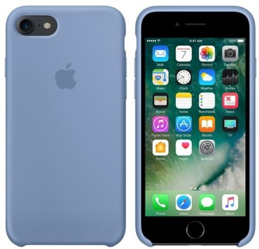 Apple iPhone 7/8 Silicone Case, Azure