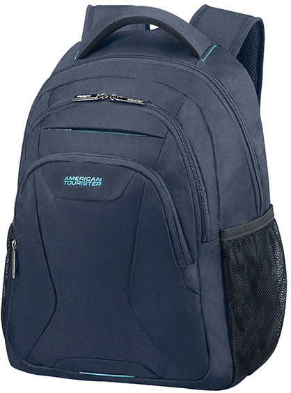 """American Tourister AT WORK LAPT. BACKP. 13.3""""-14.1"""" Midnight Navy"""