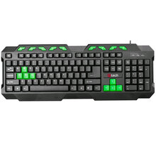 C-TECH GMK-102-B, CZ, černá-zelená