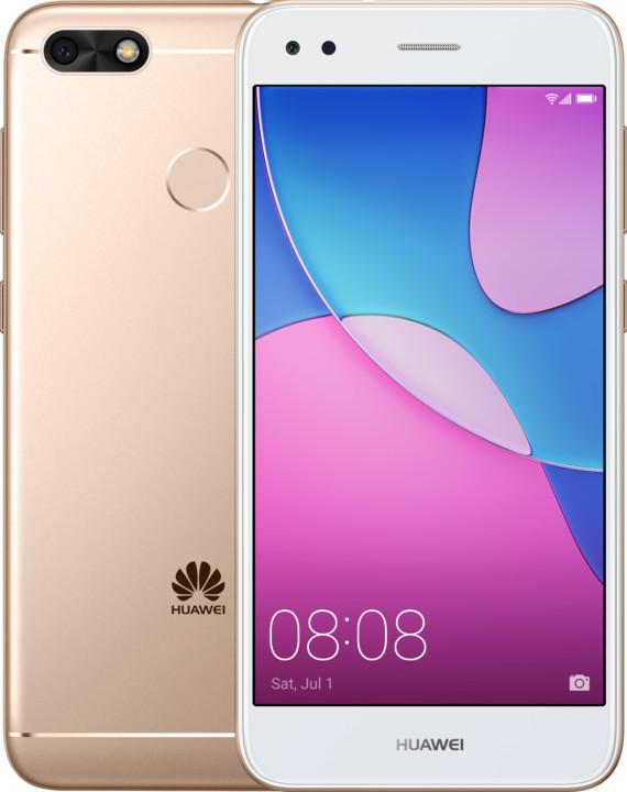 Huawei P9 Lite Mini, Dual SIM, zlatá