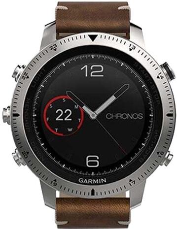 Garmin fenix Chronos Leather Optic