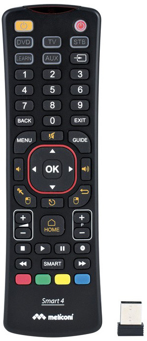 Meliconi Smart4 univerzální dálkové ovládání pro chytré televize