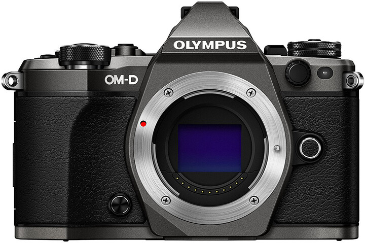 Olympus E-M5 Mark II tělo, titanium