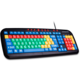 CONNECT IT Kontrastní barevná klávesnice pro děti, USB