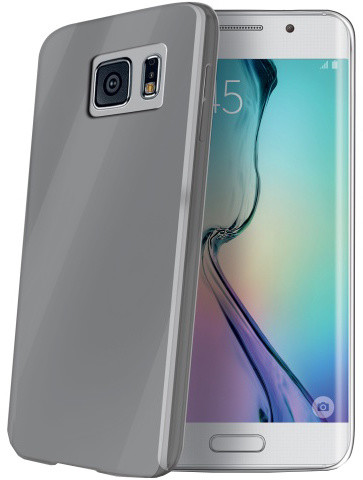 CELLY Ultrathin pouzdro pro Samsung Galaxy S6 Edge, kouřová