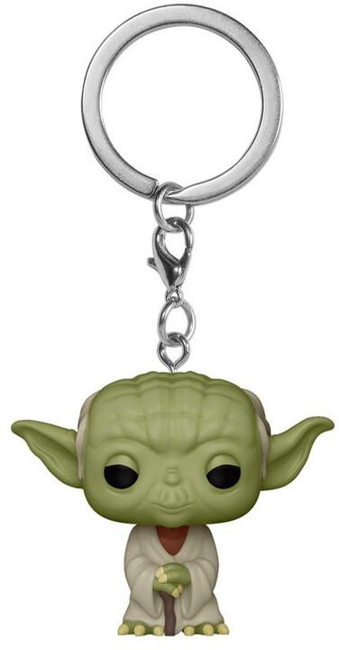Klíčenka Funko POP! Star Wars - Yoda