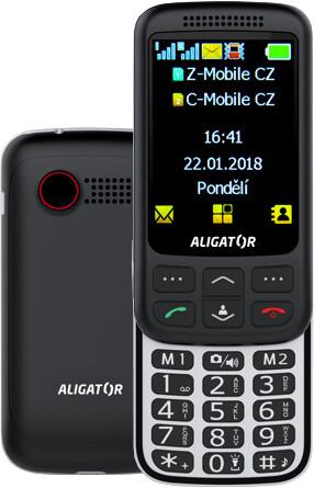 Aligator VS900 Senior, černo/stříbrná