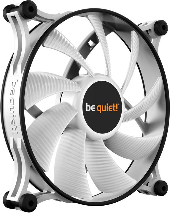 Be quiet! Shadow Wings 2, PWM, 140mm, bílá