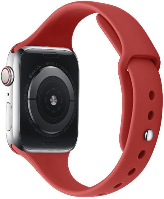 MAX silikonový řemínek MAS31 pro Apple Watch, 38/40mm, červená