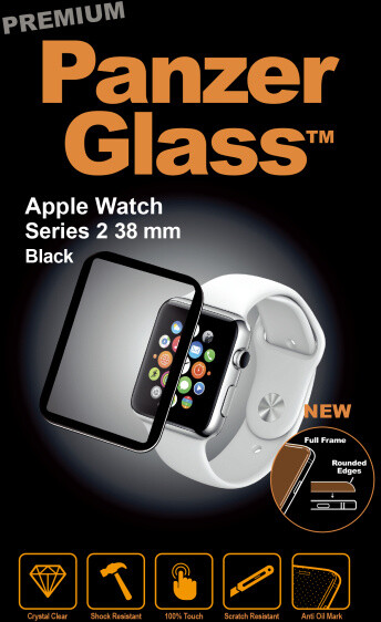 PanzerGlass Premium pro Apple Watch Series 2 38mm, černé