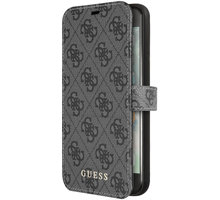 GUESS pouzdro Charms Book 4G pro iPhone 7/8, šedá GUFLBKI84GG