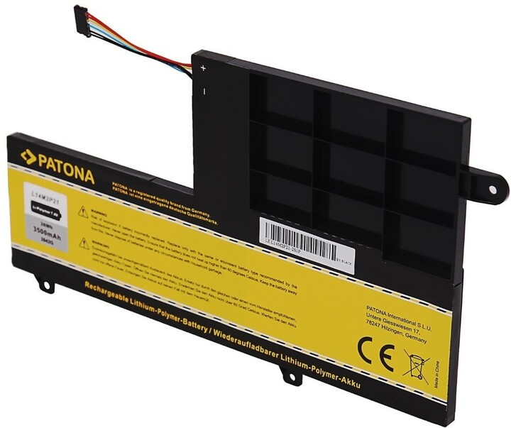 Patona baterie pro ntb Lenovo Ideapad 300S/500S, 3500mAh, 7.4V, Li-Pol