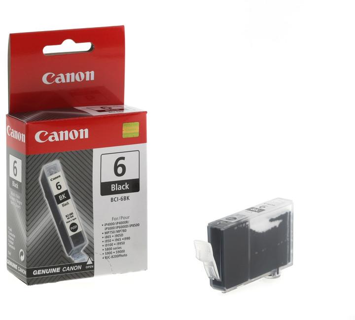 Canon BCI-6Bk, černá